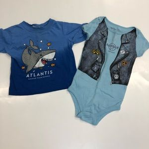 18 month baby boy tops